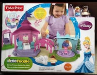 GREAT XMAS GIFT! BRAND NEW Fisher Price Little People Disney Princess Garden Tea Party Play Set 564 km