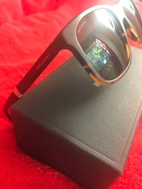 Black and brown frame Bvlgari like new 10/10 condition  2280 mi