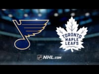 St Louis Blues at Toronto Maple Leafs October 20 Mississauga, L5J