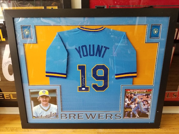 new photos 05dcf 1d007 Robin Yount Milwaukee Brewers autographed