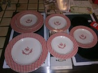 Rooster dishes plates Tullahoma
