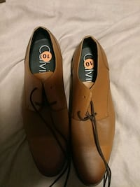 pair of brown-and-black leather loafers Akron, 44320