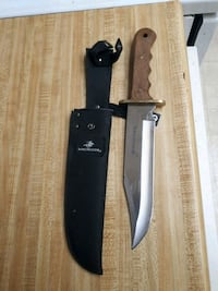 Winchester knife.