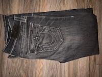 NEVER WORN** True Religion (GENO RELAXED SKIN FIT) Jeans size 36 Vaughan, L4L 1M3