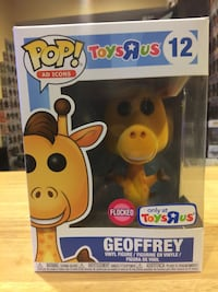 Funko Pop Flocked Geoffrey