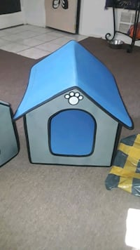 Small dog house. I have two. $20 each. Brand new.