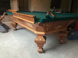 Pool Table and Billiard Table Movers and Service