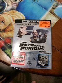 The fate of the Furious 4K with Blu-ray