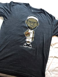 Lebron Miami Heat T Shirt XL