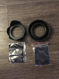 58mm Rubber & Flower Lense Hood