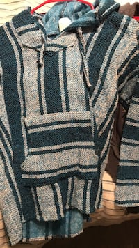 Blue hoodie purchased in Mexico  Springdale, 72762