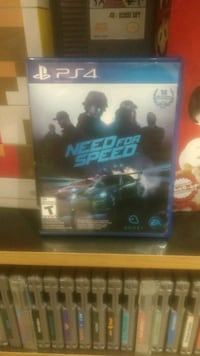 Need for Speed PS4 game case Cambridge, N1P 1A4