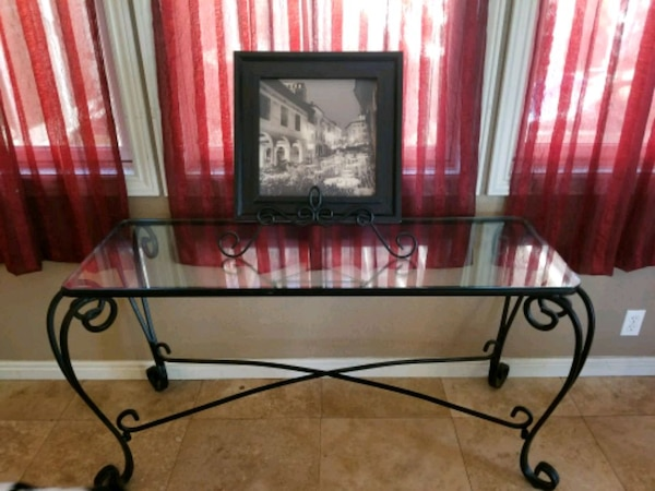 Used Pier One Circa 2002 Sofa Table For In Elk Grove