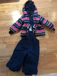 Girl snow suit, like new, size:  18 months Laval, H7P 4E6