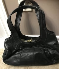 Real strong large coach purse black 554 km