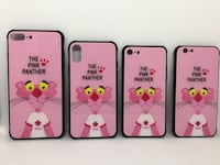 Чехол на iPhone 6,7,8,6+,7+,8+,X. Pink Panther