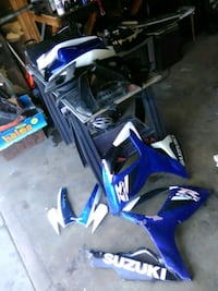 blue and black motocross dirt bike Fresno, 93722