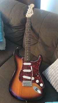 Black and red stratocaster electric guitar Germantown, 20876