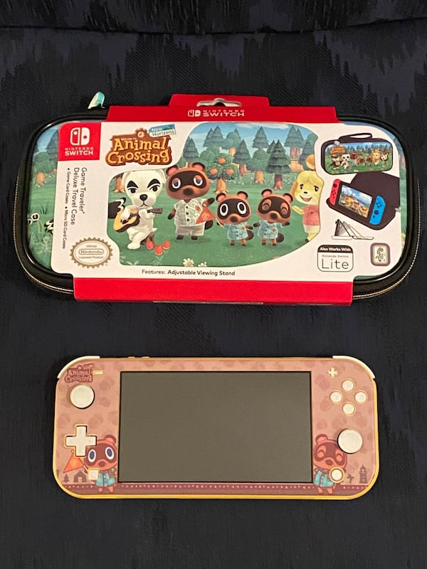 Sold Nintendo Switch Lite Console Animal Crossing New Horizons