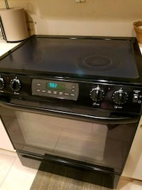 black and gray induction range oven Detroit, 48238