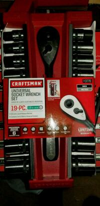 red and black Craftsman tool set Fitchburg, 01420