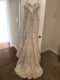 Allure Couture Bridal size 14/street size 12 Gaithersburg, 20877