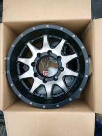 Raceline 16 inch wheels all 4. Size is 16x8x6.5 Ranson, 25438