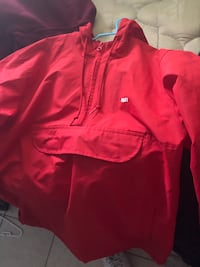 Red Obey Windbreaker Carson, 90745