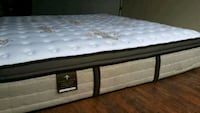 Luxury king mattress pocket coil eurotop. Delivery Edmonton, T6J