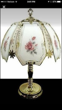 Floral Teapot Touch Lamp West Des Moines, 50265