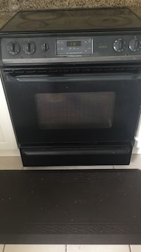 Electric range Frigidaire self cleaning convection. I'm renovating hence selling otherwise all burners working fine. Thanks  Brampton, L7A