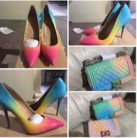 Women's pair of colorful pumps Haines City, 33844
