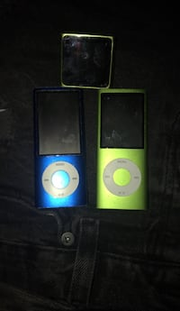 two blue and yellow iPod Nano Washington, 20012