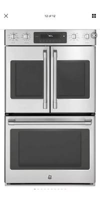 GE Cafe CT9570SLSS Self-cleaning Convection Double Electric Wall Oven Sterling, 20164