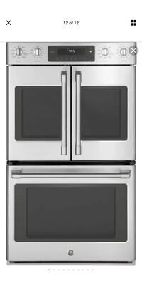 GE Cafe CTD90FP2MS1 True Convection Double Electric Wall Oven