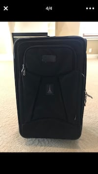 Black soft-side luggage!! Yorba Linda, 92886