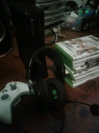 xbox360 5 games turtlebeach headset