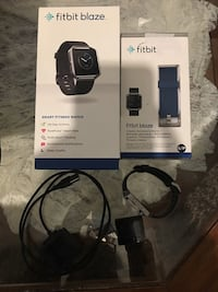 Fitbit Blaze with blue and black strap Provo, 84601