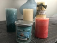 Assorted Brand New Accent Candles  Hamilton, L0R 1C0