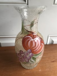 Spring Crackle Glass Vase Hagerstown, 21742