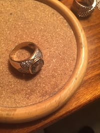Silver rings size 9