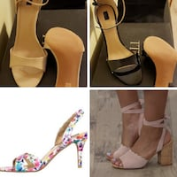 4 PR Size 10 Women's Shoes/Heels/Pumps 32 km