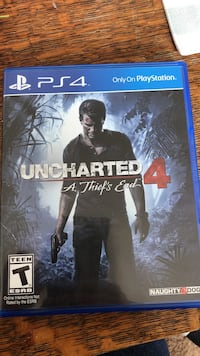 PS4 Uncharted 4 Game