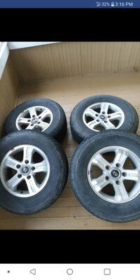 "16"" wheels with 245/70/16 fuzion suv tires Burnsville, 26335"