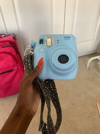Barely Used Blue Instax Mini 7S with Polka Dot Strap Odenton, 21113