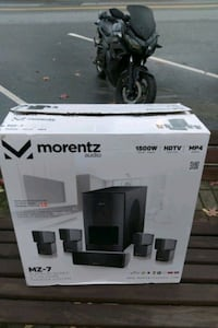 Morentz platinum series 5.1. HD home theater system