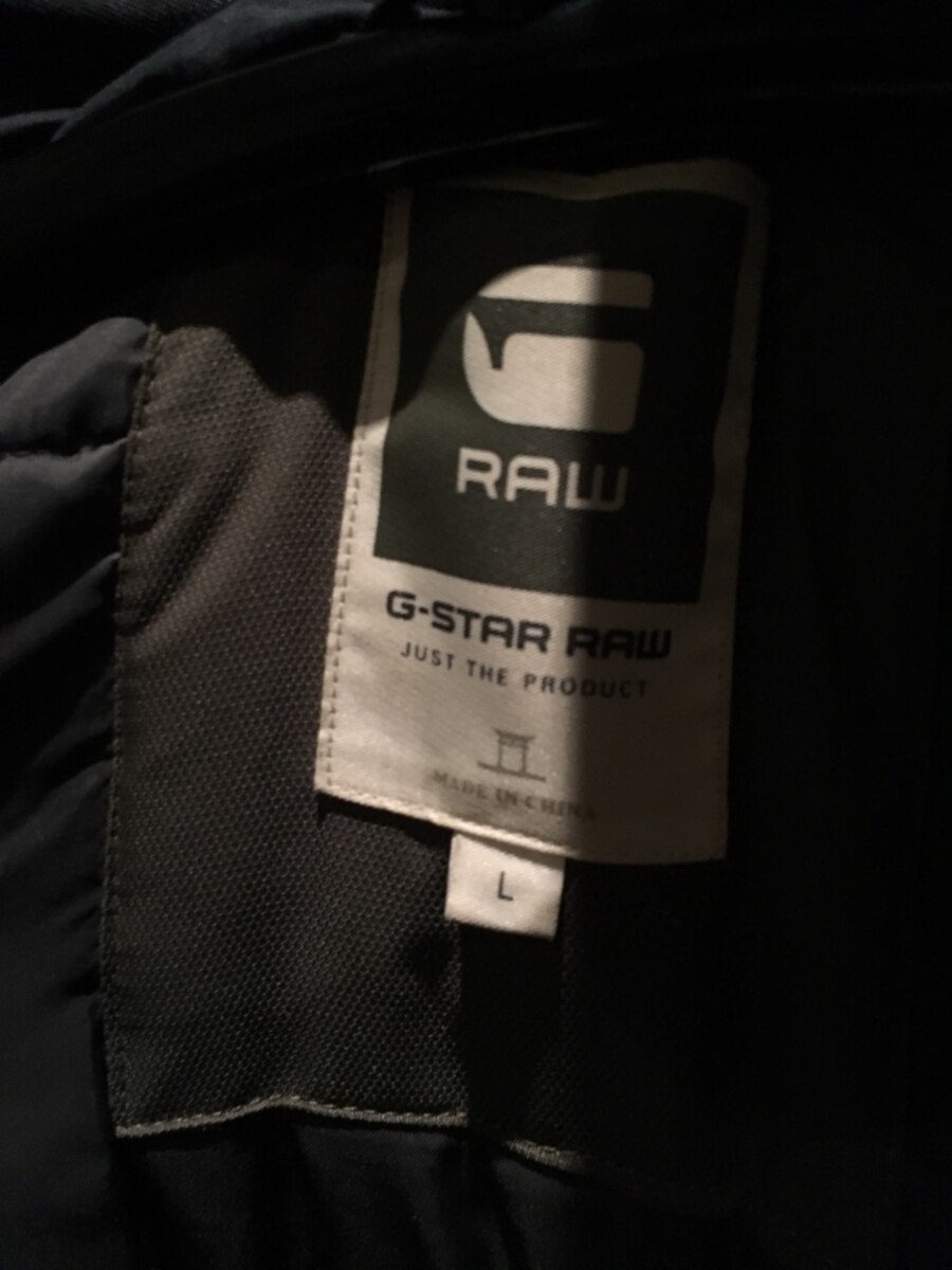 G-Star Raw Mountain Down Parka Navy L - Akershus