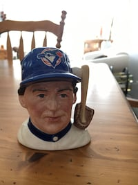 Royal Doulton, Toronto Blue Jays Character Mug from the back to back 1992-1993 World Series. Limited edition. Number 1843 of 2500. Definite collectors item. Perfect condition Cochrane, T4C 1K6