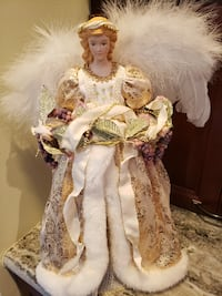 "17"" Angel tree topper Leesburg"