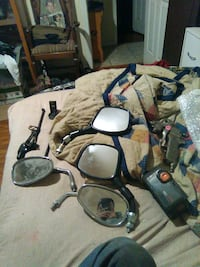 Motorcycle and moped mirrors and 2.5 Ridgid batter Prairie Grove, 72753